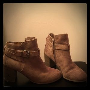 Tan Suede Merona Ankle Boots